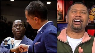 Jalen Rose weighs in on Magic (his idol) vs. Rob Pelinka (his friend) battle | Jalen & Jacoby