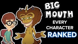 Big Mouth Season 3: Every Character Ranked