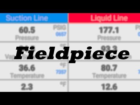 Fieldpiece Joblink Probes   Test Run with Measurequick