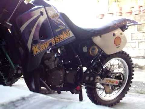 kmx125  rear and front shock check