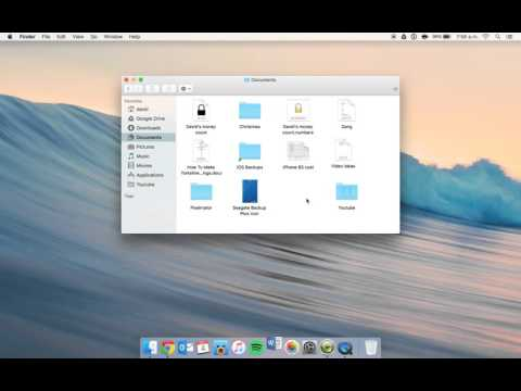 Change the deafult file format on OS X