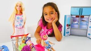 Download Ceylin, Barbie, Chelsea ile kız oyunları. Evcilik oyuncakları Video