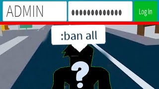 HACKING AN ADMIN TO USE RESTRICTED COMMANDS! (Roblox