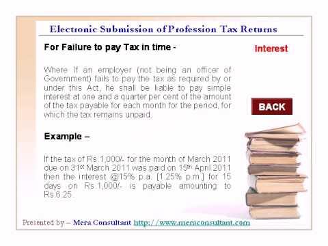 Maharashtra Profession Tax Return Filing and Procedures