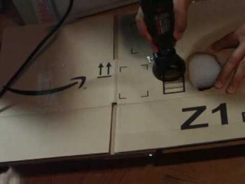 nycr cutting cardboard