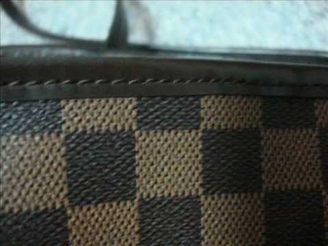 Louis Vuitton Authentication - ITEM 40 Damier Neverfull