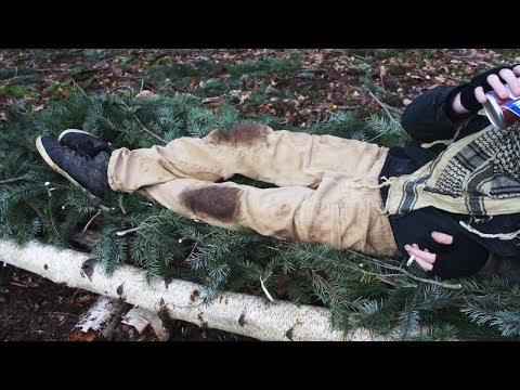 Natural Shelter Building - Raised Insulated Bed