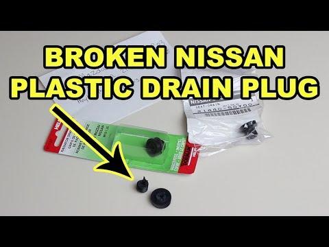 How To Fix A Broken Nissan Radiator Drain Plug