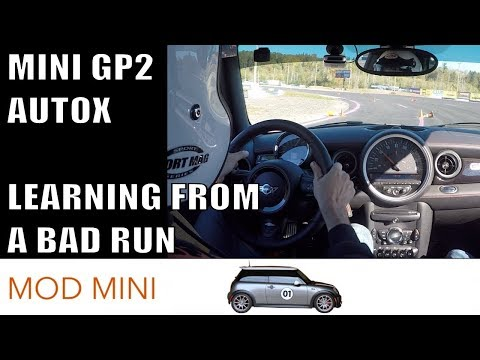 Learning from autocross mistakes MINI GP R56 - Evergreen AutoX!