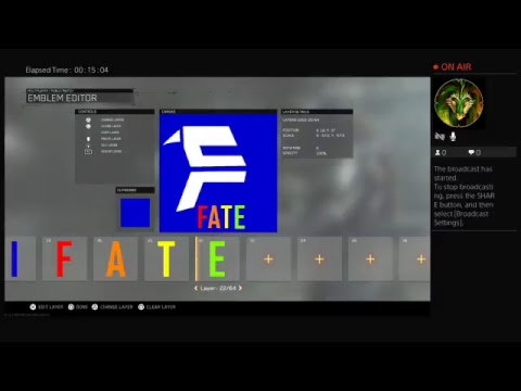 How to make FaTe clan logo