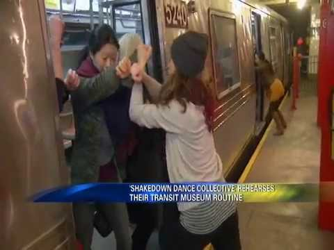 Brooklyn 12 News Features Shakedown Dance's Performance at New York Transit Museum