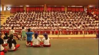 BatStateU IS Week '13, Bench Cheering, Champion, Violet Team