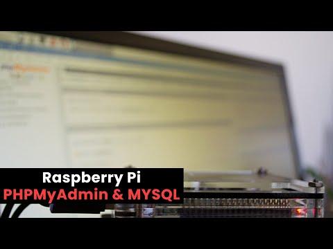 Raspberry Pi MYSQL & PHPMyAdmin Tutorial