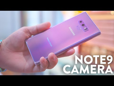 Galaxy Note 9 Ultimate Camera Test! (4K Video & Slow Motion)