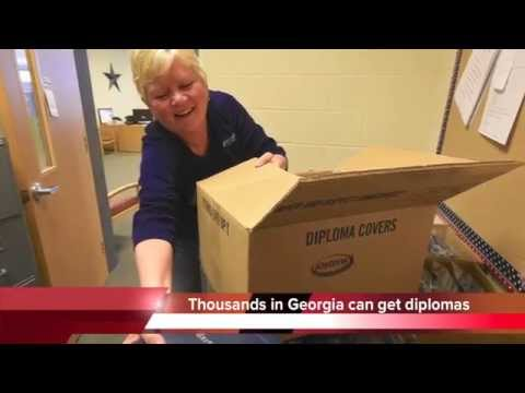 Georgia residents denied diplomas for decades finally get to graduate