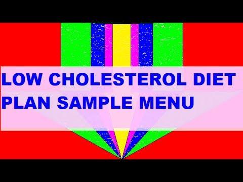 Cholesterol Lowering   Diet Plan   Sample menu in animation   How to reduce cholesterol