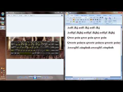 English Typing -Tamil Tutorial