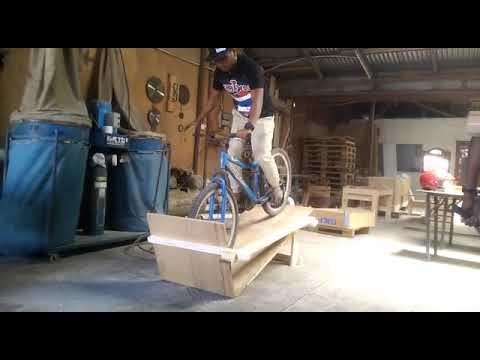 DIY BMX Racing Prototype Start Gate by Abg Kayu & RR