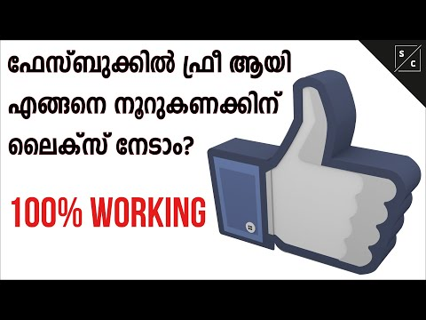 How To Get More Likes On Facebook - ( Malayalam )