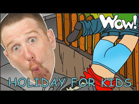 Holiday Story time for Kids from Steve and Maggie | Speaking and Learning Wow English TV