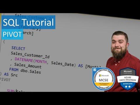 SQL Tutorial - PIVOT
