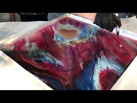 Turning A Pour You Don't Like Into A Geode