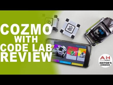Anki Cozmo with Code Lab Review - Virtual Pet Meets Teacher's Pet