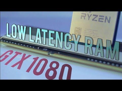 The retest: Ryzen + LOW LATENCY RAM + GTX 1080