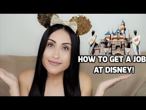 HOW TO GET A JOB AT DISNEY! | Danielle Materra