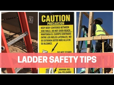 Ladder Safety Video:  How To Use Ladders Safety