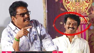 Download சேரனை மேடையிலே கலாய்த்த கே எஸ் ரவிக்குமார்   K S Ravikumar Speech   Thirumanam Audio launch Video