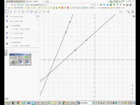 How to Use Geogebra for Graphing
