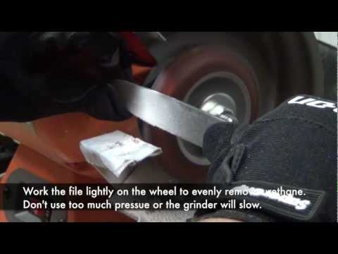 ScooterDad - Removing Flat Spots and Resurfacing Scooter Wheels