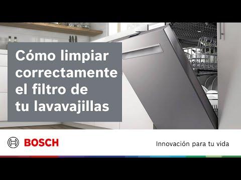 Cuidado y limpieza   ¿Cómo limpiar el filtro del lavavajillas?