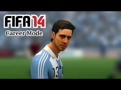National team debut (Argentina) | S1E1 | FIFA 14 Career Mode