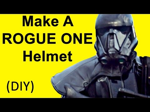 How To Make a Rogue One Helmet (Death Trooper DIY)