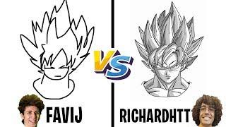 GARA DI DISEGNO! - (Favij vs RichardHTT)