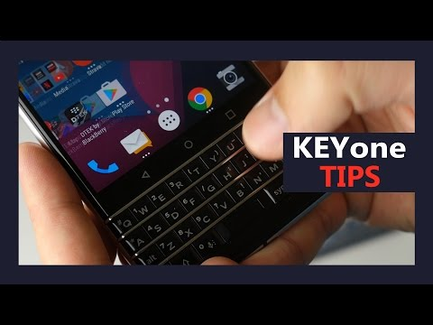 BlackBerry KeyOne keyboard tips and tricks - Type and Swipe