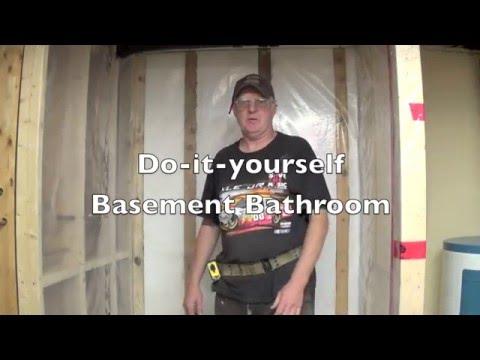 DIY Basement Bathroom Part 4 - Installing Cement Board