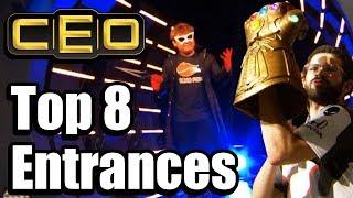 CEO 2019 Top 8 Entrances for Smash Bros Ultimate