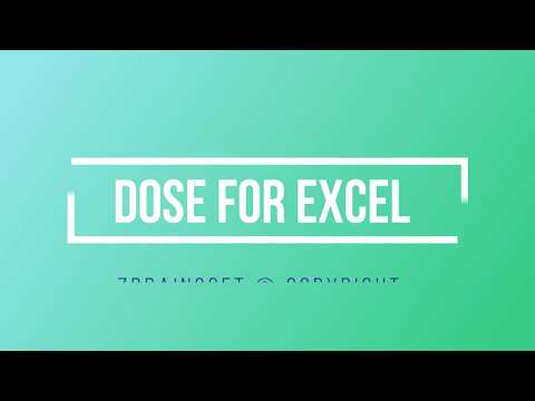 Excel +100 New Functions and Features - Dose for Excel Add-In