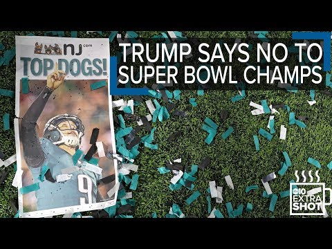 Trump disinvites Philadelphia Eagles after most refuse to visit