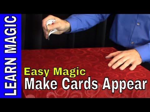 Magic Trick Revealed - Sleight of Hand Card Magic
