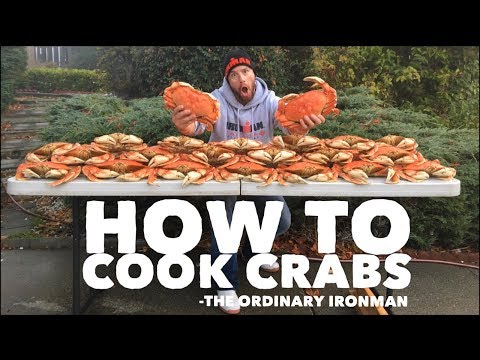 How to Cook Crabs Dungeness Crab Boil