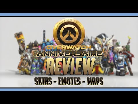 OVERWATCH ANNIVERSAIRE : REVIEW !