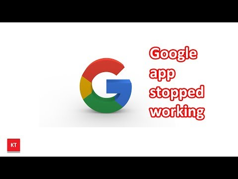 Google app has stopped working on Samsung (android device)