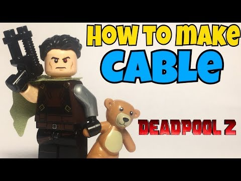 HOW TO Make Lego CABLE from Deadpool 2! (Purist Method)