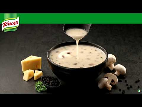 Knorr International Italian Mushroom Soup cinemagraph