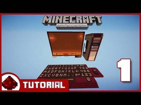 Minecraft Xbox One Redstone Computer Tutorial -Part 1: Segment Displays