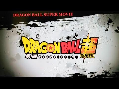NEW Dragon Ball Super 2018 Movie Trailer!